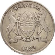 Botswana, 25 Thebe, 1989, British Royal Mint, TTB, Copper-nickel, KM:6 - Botswana