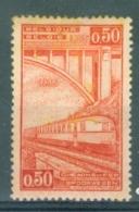 BELGIE - OBP Nr TR 182 V - PLAATFOUT - MH* (roestvorming/rouilli) - Cote 20,00 € - 1923-1941