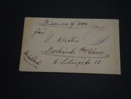 ALLEMAGNE - Enveloppe De Prisonnier Pour Markirch Avec Contrôle Militaire- A Voir - L 776 - Germany