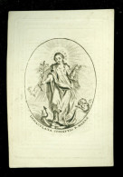 Doodsprentje ( A 76 )   Osy / De Knyff -  Deurne  1851 - Avvisi Di Necrologio