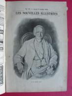 Les Nouvelles Illustrées N° 59 De 1903. Pape Leon XIII Sorbonne Arts Et Métiers Hippopotame Cuirassé Coupe Gordon Bennet - Journaux - Quotidiens