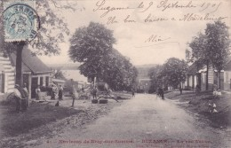 CPA 80 @ SUZANNE Près BRAY Sur SOMME @ La Rue Neuve En 1905 Métier Charron Travaillant Une Roue En Bois D'attelage - Autres Communes