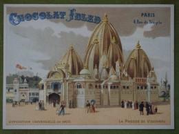 Exposition Universelle De 1900 - La Pagode De Vischnou - Publicité Ibled - Ibled