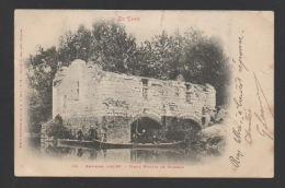 DF / 81 TARN / MARSSAC / LE VIEUX MOULIN ET MILITAIRES DANS DES BARQUES / ANIMÉE / CIRCULÉE EN 1903 - Francia