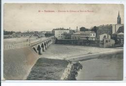 31, Haute Garonne, TOULOUSE, Chaussée Du Chateau Et Pont De Tounis,,Scan Recto-Verso - Toulouse