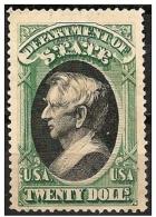 Stati Uniti/États-Unis/United States: Fac Simile, W. H. Seward - Nachdrucke & Specimen