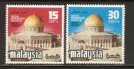MALAYSIA 1978 FREEDOM From PALESTINE SET MNH - Malaysia (1964-...)