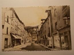 Carte Postale - CREMIEU (38) - Rue Du Lieutenant Colonel BEL  (94A) - Crémieu