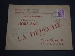 FRANCE – Env HORS SAC – A étudier - Détaillons Collection - A Voir- N° 17421 - Posttarife