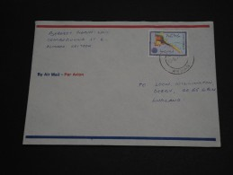 ERYTHREE – Env Pour La Grande Bretagne – Rare Courrier Voyagé - Détaillons Collection - A Voir - N° 17422 - Erythrée