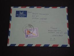 ERYTHREE – Env Pour La Grande Bretagne – Rare Courrier Voyagé - Détaillons Collection - A Voir - N° 17423 - Eritrea