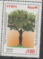 HUMAN RIGHTS, 2016, MNH, INTERNATIONAL WOMEN´S DAY, TREES, FLORA, 1v - Bäume