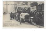 LES CHEMINOTS ( Guerre 14-18, Noêl 1914 ) , Paris, 8 Arrt, Camion , Le Président De L´Union Nationale - Guerra 1914-18