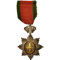 Cambodge, Order Of Cambodia, Medal, Non Circulé, Argent, 70 - Militair