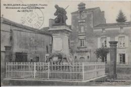 CPA Vendée Circulé Saint Hilaire Des Loges Guerre 1870 - Saint Hilaire Des Loges