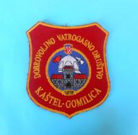 FIRE DEPARTMENT GOMILICA Croats Patch Fire Brigade Firefighting Firefighters Feuerwehr Sapeurs Pompiers Vigili Del Fuoco - Firemen
