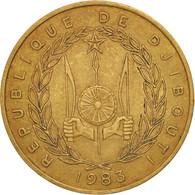 Djibouti, 20 Francs, 1983, Paris, TTB+, Aluminum-Bronze, KM:24 - Djibouti