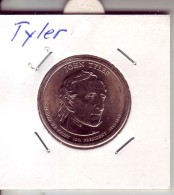 Stati Uniti 2009 - 1 Dollaro Tyler - Zecca P - Emissioni Federali