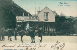 AT ISCHL / Kaiserl. Cottage / CARTE COULEUR - Autriche