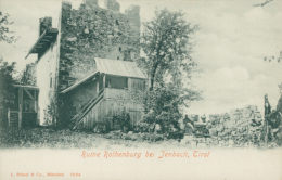 AT JENBACH / Ruine Rothenburg Bei Jenbach / - Jenbach
