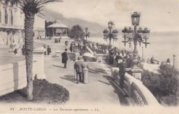 MONACO---MONTE-CARLO ---les Terrasses Supérieures--voir  2 Scans - Terraces