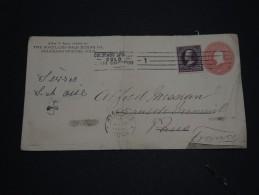 ETATS UNIS - Entier Postal De Colorado Spring Pour La France En 1900 - A Voir - L 824