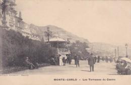 MONACO---MONTE-CARLO ---les Terrasses Du Casino--voir  2 Scans - Terraces