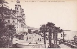 MONACO---MONTE-CARLO ---Le Casino Et Les Terrasses  (côté Ouest) --voir  2 Scans - Terraces