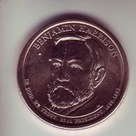 Stati Uniti - 1 Dollaro B. Harrison - Zecca P - Emissioni Federali