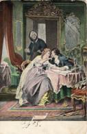 Postcard / CP / Postkaart / Couple / Romantique / Romantic / Love / Homme / Femme / Artist J. E. Gaisser / 1905 - Illustrators & Photographers