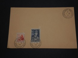 FRANCE / ALGÉRIE  - Enveloppe Avec Oblitération Du Gouvernement Provisoire Le 1/9/44 - A Voir - L 842 - Algérie (1924-1962)