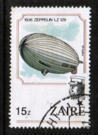 ZAIRE   Scott # 1165 VF USED - 1980-89: Used