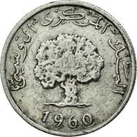 Monnaie, Tunisie, Millim, 1960, TTB, Aluminium, KM:280 - Tunisie