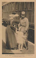 Kaiser & König Karl Und Kaiserin Und Königin Zita Mit Erzherzog Robert D'Este, Nr. 14, Karte Für Rotes Kreuz - Red C - Königshäuser