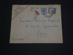 """BRESIL - Enveloppe """" Blue Star """"  Pour La France En 1938 , Affranchissement Plaisant - A Voir - L 848 - Brésil"""
