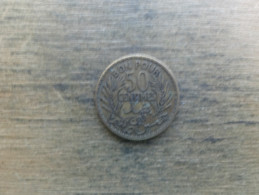 Tunisie  Bon Pour  50  Centimes  1921  Km 246 - Túnez