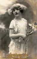 CPA / Postcard / Bonne Fête / Verjaardag / Happy Birthday / Fille / Girl - Compleanni
