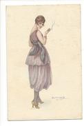 14959 -  Bompard Femme à La Cigarette 928-4 - Bompard, S.