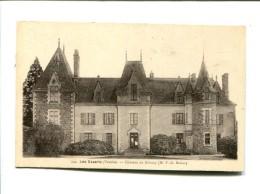 CP -LES ESSARTS (85) Chateau De Grissay - Les Essarts