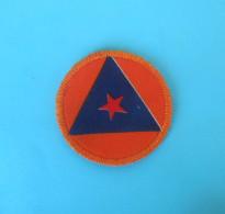 CIVIL PROTECTION - YUGOSLAV ARMY Patch * Protection Civile Ecusson Katastrophenschutz  Flicken Toppa Protezione Civile - Patches
