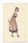 14960 -  Bompard Femme à La Fleur 928-3 - Bompard, S.
