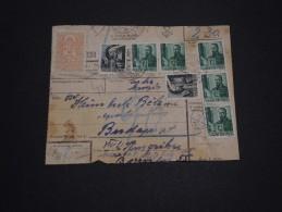 HONGRIE - Colis Postal Pour Budapest - A Voir - L 853 - Paketmarken