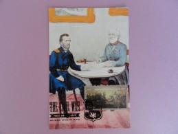 CARTE MAXIMUM CARD APPOMATTOX COURT HOUSE 9 AVRIL 1865 AVEC FLAMME ILLUSTRÉE - 2010-...