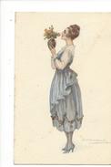 14961 -  Bompard Femme  Au Bouquet De Fleurs  928-2 - Bompard, S.