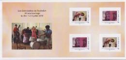 = Type MonTimbraMoi Collector 4 Timbres Les Demoiselles De Rochefort 50 Ans Tournage Du Film, Cadre Phil@poste - Collectors