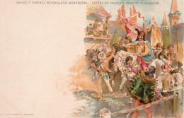 3946. CPA HONGRIE ILLUSTRATEUR. ENTREE DE FRANCOIS RAKOCZY A MUNKACS - Hongrie