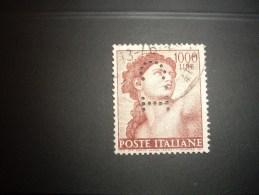 ITALIE  Peforé  Perfin   1961 - 6. 1946-.. Repubblica