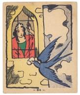 Chromo Banania (n° 34 ) - Princesse / Oiseau Bleu - Banania