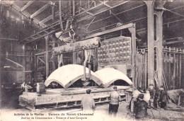 42 - Usines De SAINT CHAMOND -  Acieries De La Marine  - Atelier De Cementation  - Trempe D Une Coupole ( Industrie ) - Saint Chamond