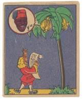 Chromo Banania Signé Vica (n° 3 ) - Bananier, écrivain Bernardin De Saint Pierre - Banania